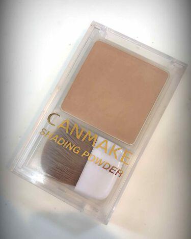 シェーディングパウダー/CANMAKE/プレストパウダー by coral_sounds693