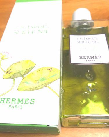 ナイルの庭 オードトワレ ナチュラルスプレー/エルメス/香水(メンズ)を使ったクチコミ(2枚目)
