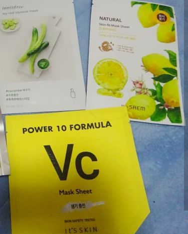 rinoaさんの「It's skinpower10 formula masksheet  Vc<シートマスク・パック>」を含むクチコミ