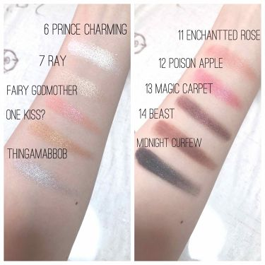 It's a Princess Thing Shadow Palette/ColourPop/パウダーアイシャドウを使ったクチコミ(2枚目)