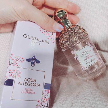 アクア アレゴリア フローラルチェリージア/GUERLAIN/香水(レディース)を使ったクチコミ(1枚目)