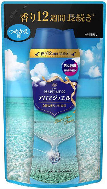 レノアハピネス アロマジュエル アクアオーシャンの香り 詰め替え455ml