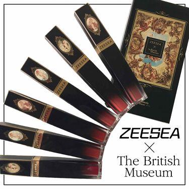 ZEESEA×TheBritishMuseum/ZEESEA/リップグロスを使ったクチコミ(1枚目)