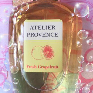 フレッシュグレープフルーツ オードトワレ/アトリエ・プロヴァンス/香水(レディース)を使ったクチコミ(1枚目)