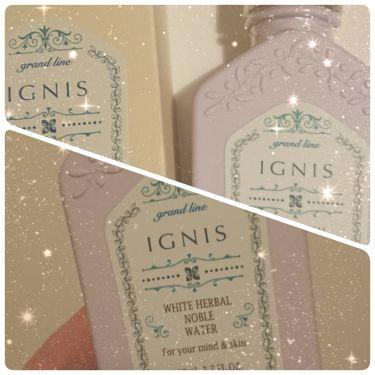 ホワイトハーバル ウォーター/IGNIS/化粧水を使ったクチコミ(1枚目)