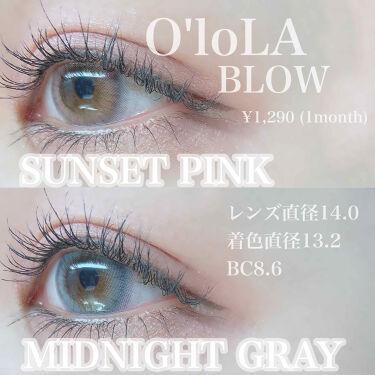 ブロー(Blow)/OLOLA/カラーコンタクトレンズを使ったクチコミ(2枚目)
