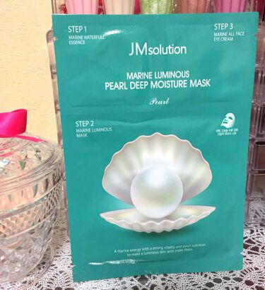 JM solution  marine luminous pearl deep moisture mask / JM Solution