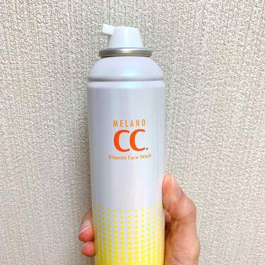 メラノCC 酵素ムース泡洗顔/メンソレータム メラノCC/洗顔フォームを使ったクチコミ(2枚目)
