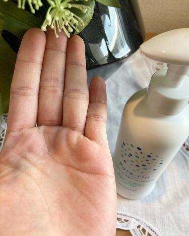 うるおいin手肌すっきり洗浄乳液/Pure-ria/ハンドクリームを使ったクチコミ(3枚目)