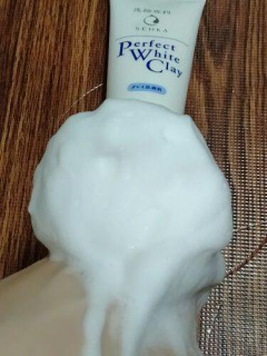 パーフェクトホワイトクレイ/専科/洗顔フォームを使ったクチコミ(3枚目)