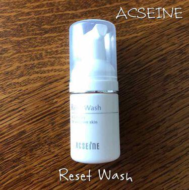 リセットウォッシュ/ACSEINE/洗顔フォームを使ったクチコミ(1枚目)