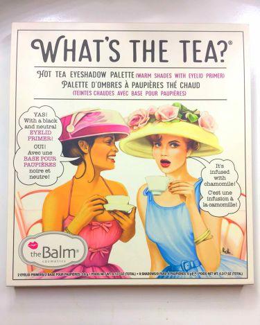 whats the tea /the Balm/パウダーアイシャドウを使ったクチコミ(1枚目)