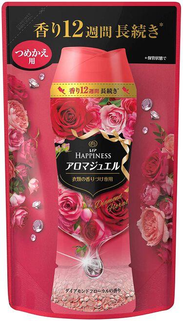 レノアハピネス アロマジュエル ダイアモンドフローラルの香り つめかえ455ml