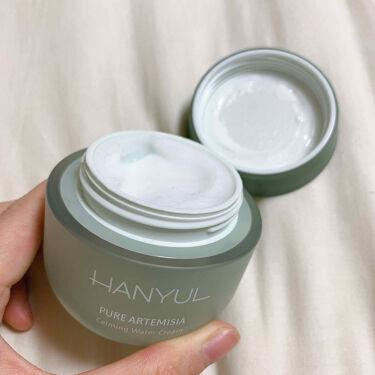 ヨモギ水分鎮静クリーム/HANYUL(ハンユル)/フェイスクリームを使ったクチコミ(2枚目)