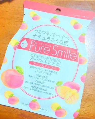 えびふらいさんさんの「Pure Smile(ピュアスマイル)ヨーグルトシリーズ アップルマンゴー<シートマスク・パック>」を含むクチコミ