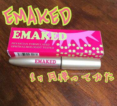 EMAKED (エマーキット)/水橋保寿堂製薬/まつげ美容液を使ったクチコミ(1枚目)