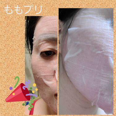潤いぷるジュレマスク/ももぷり/シートマスク・パックを使ったクチコミ(4枚目)