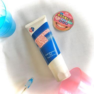 薬用ホワイトニング デンタクリーン/シーヴァ/歯磨き粉を使ったクチコミ(4枚目)