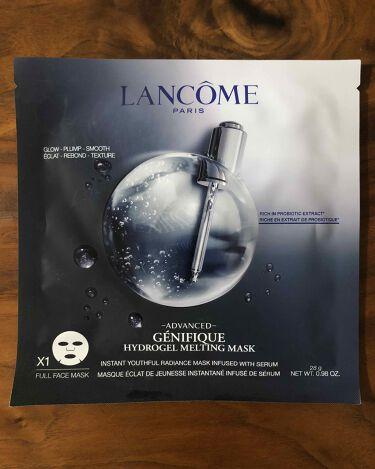 ジェニフィック アドバンスト ハイドロジェル メルティングマスク/LANCOME/シートマスク・パックを使ったクチコミ(1枚目)