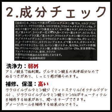 オーガニックシャンプー/トリートメント<モイストシャイン>/AROMA KIFI/シャンプー・コンディショナーを使ったクチコミ(3枚目)