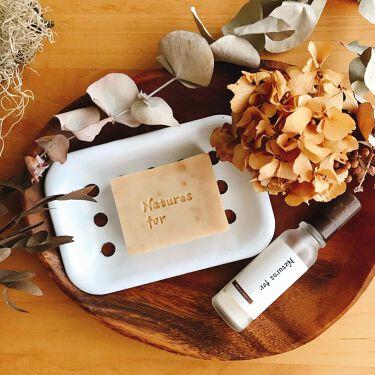ハーバルクリアソープ/Natures for/洗顔石鹸を使ったクチコミ(1枚目)