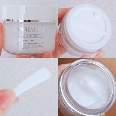 オールインワンジェル 発酵ヒアルロン酸原液美容液セット/BIOPREMIUM/スキンケアキットを使ったクチコミ(3枚目)