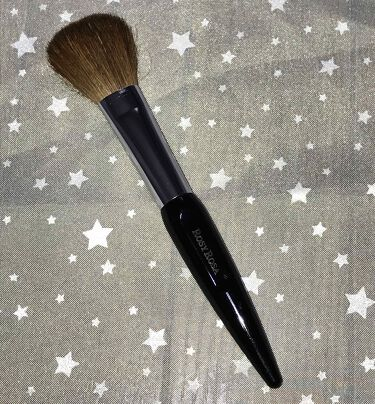 ロージーローザ 熊野筆 パウダーM/ロージーローザ/メイクブラシを使ったクチコミ(2枚目)