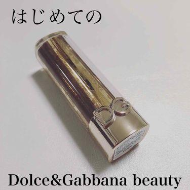 ザ・オンリーワン ルミナスカラー リップスティック/DOLCE&GABBANA BEAUTY/口紅を使ったクチコミ(1枚目)