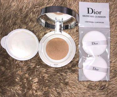 ディオール  スノー パーフェクト ライト クッション SPF 50-PA+++/Dior/化粧下地を使ったクチコミ(3枚目)