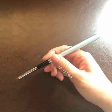 ネイル工房オリジナルジェルネイルブラシzecca筆 Liner/ネイル工房/ネイル用品を使ったクチコミ(3枚目)