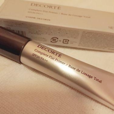 コンプリート フラット プライマー/COSME  DECORTE/化粧下地を使ったクチコミ(2枚目)