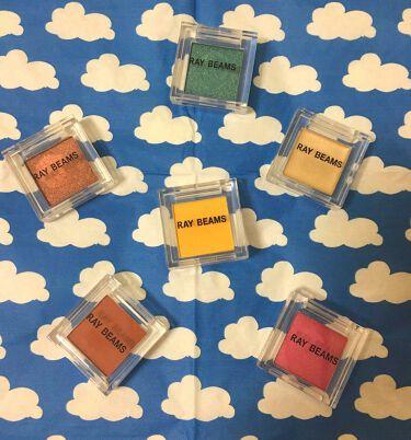 Gina×RAY BEAMS シングルカラーパレット/Ray BEAMS/パウダーアイシャドウを使ったクチコミ(1枚目)