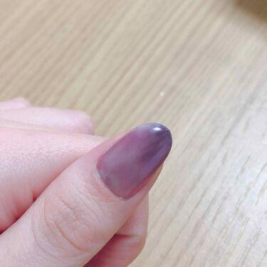 たかし on LIPS 「ネイル変えましたーー!!!親指と小指のちゅるちゅる感というか透..」(2枚目)
