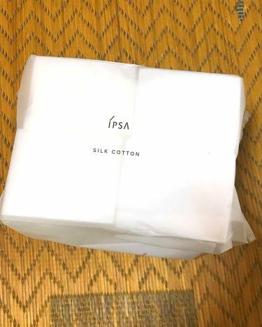 シルクコットン/IPSA/コットンを使ったクチコミ(1枚目)