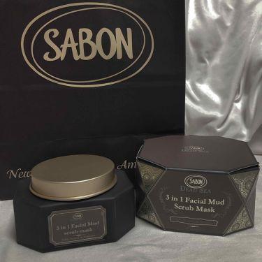 3in1 フェイシャル マッド スクラブ マスク/SABON/洗い流すパック・マスクを使ったクチコミ(1枚目)