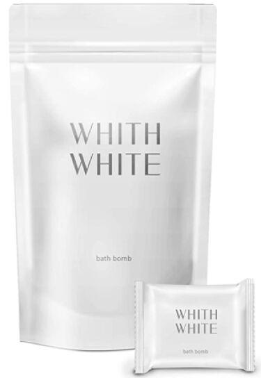 2021/2/19発売 WHITH WHITE 炭酸入浴剤