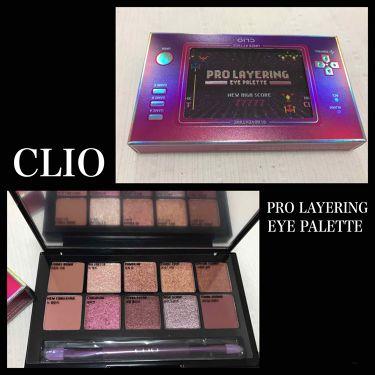 PRO LAYERING EYE PALETTE/CLIO/パウダーアイシャドウを使ったクチコミ(1枚目)