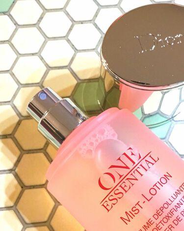 ワン エッセンシャル ミスト ローション/Dior/ミスト状化粧水を使ったクチコミ(2枚目)