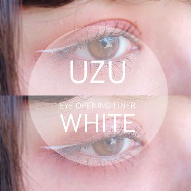 EYE OPENING LINER/UZU BY FLOWFUSHI/リキッドアイライナーを使ったクチコミ(1枚目)