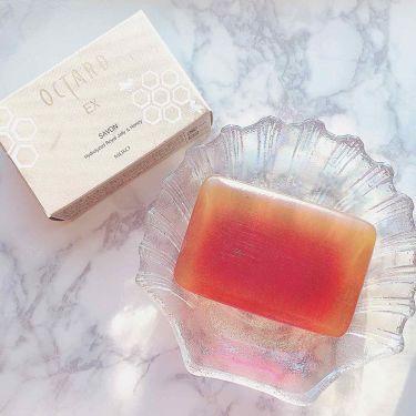 オクタードEX サボンRH/メイコー化粧品/洗顔石鹸を使ったクチコミ(4枚目)