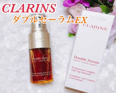 ダブル セーラム EX/CLARINS/美容液を使ったクチコミ(1枚目)