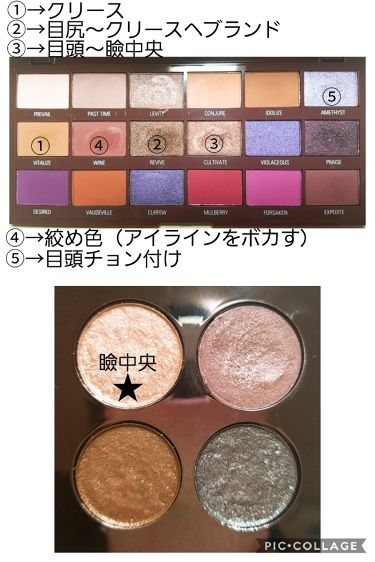 ROEN BEAUTY Eye Shadow Palette/ROEN BEAUTY /パウダーアイシャドウを使ったクチコミ(3枚目)
