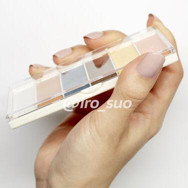 miia 6色アイシャドウ/DAISO/パウダーアイシャドウを使ったクチコミ(2枚目)