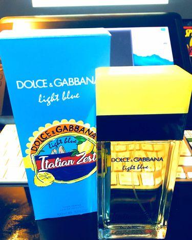 ライトブルー プールオム イタリアンゼスト オードトワレ/DOLCE&GABBANA BEAUTY/香水(メンズ)を使ったクチコミ(1枚目)