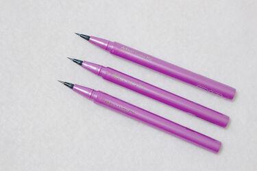 密着アイライナー ラスティンファイン ショート筆リキッド/デジャヴュ/リキッドアイライナーを使ったクチコミ(2枚目)