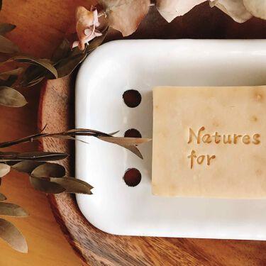 ハーバルクリアソープ/Natures for/洗顔石鹸を使ったクチコミ(2枚目)