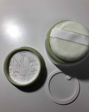 薬用アクネ ナイトタイムディフェンス/ettusais/ルースパウダーを使ったクチコミ(2枚目)