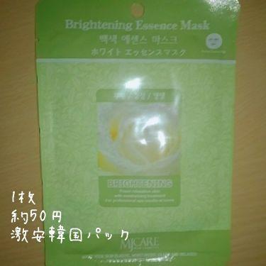 MJ-Care エッセンスマスク/MJ-Care/シートマスク・パックを使ったクチコミ(1枚目)