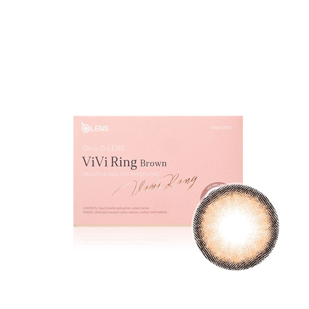 VIVI RING (ビビリング) ブラウン