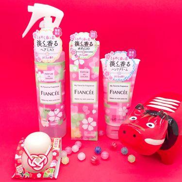 フィアンセ公式アカウントさんの「フィアンセボディミスト さくらの香り<香水(レディース)>」を含むクチコミ